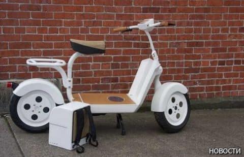 Fremont Motors представил прототип своего электрического скутера Fido