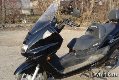 Продаю скутер Geely, пгт Гвардейское (6 000гривен)